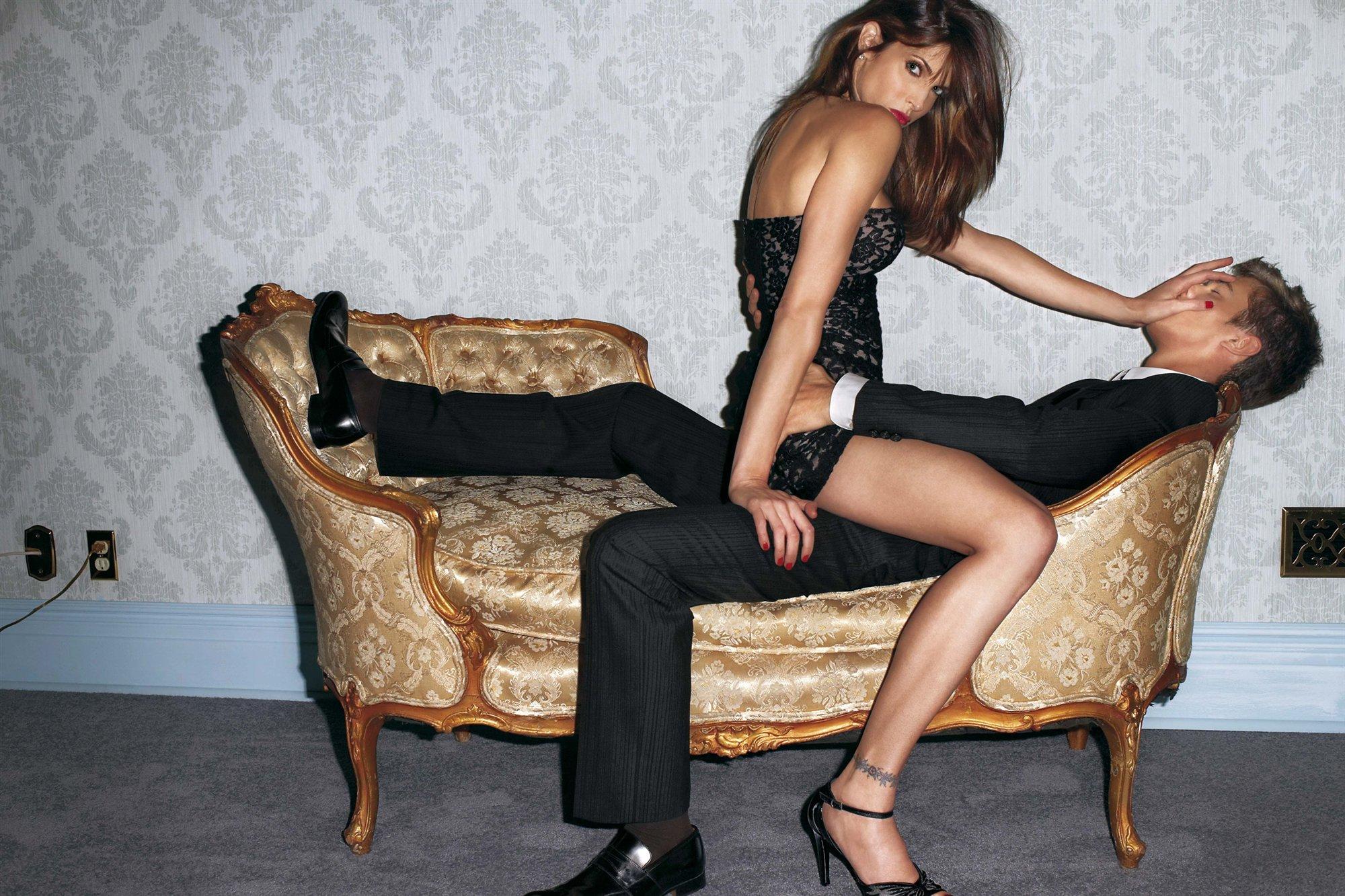 Woman dominates man sex picture nackt comics