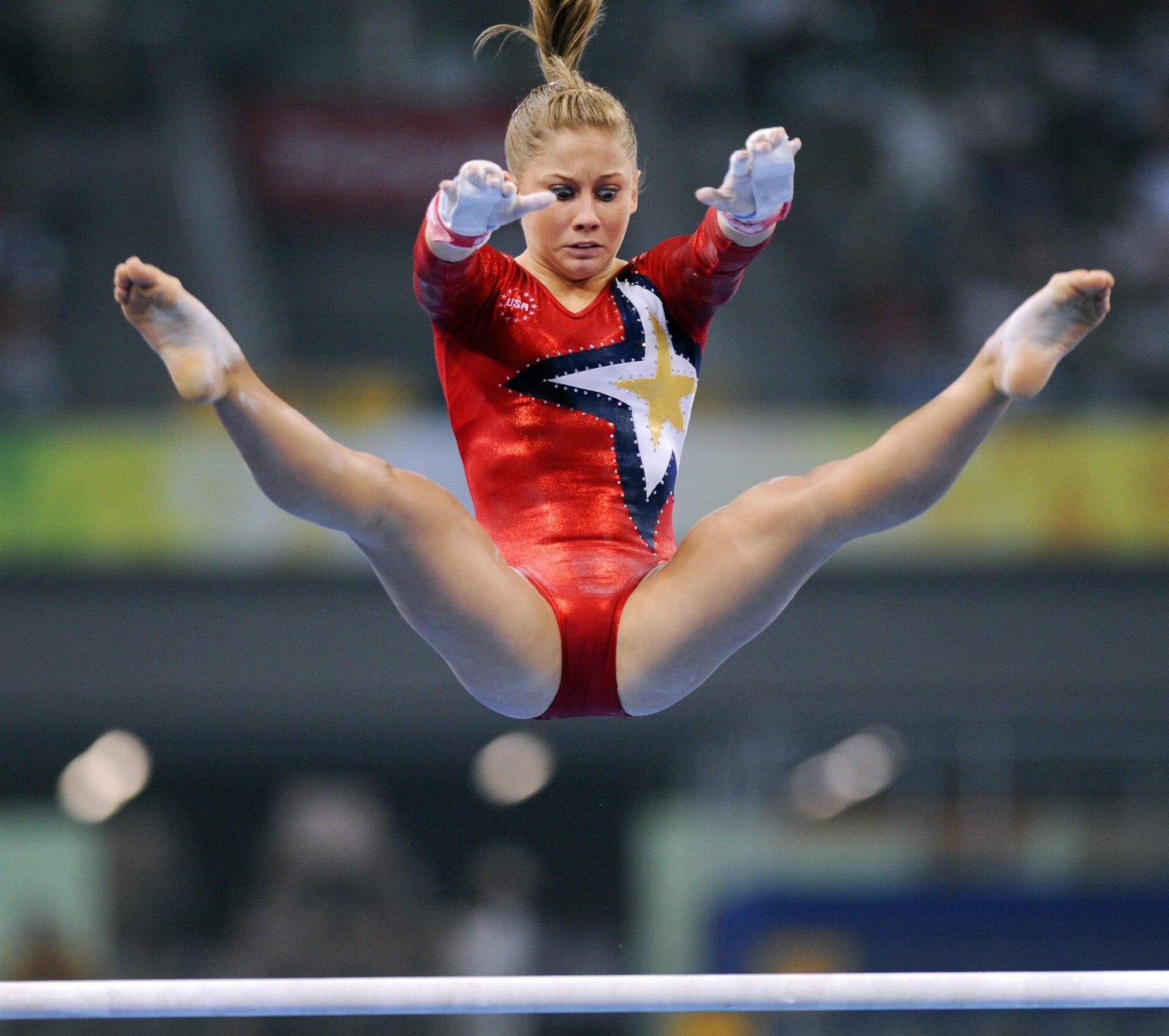 Фото с гимнастики пикантные