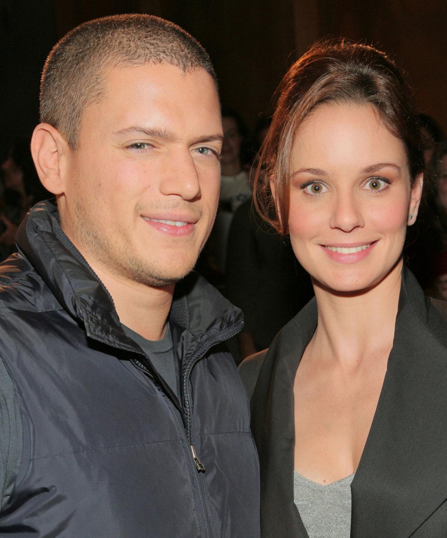 Фото вентворта миллера с его девушкой